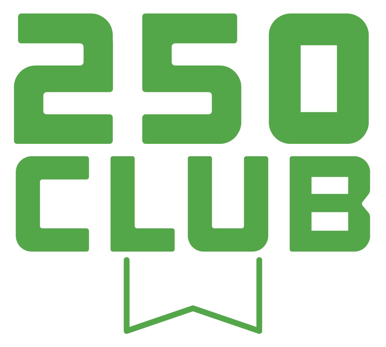 250+ Membership Award